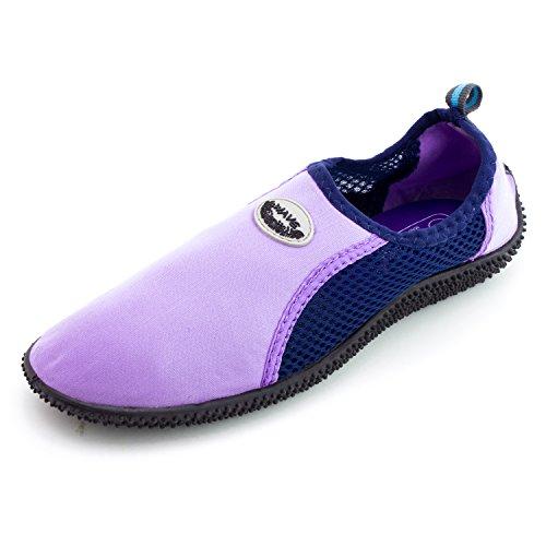 Scarpe Da Spiaggia Per Donna Acqua Piscina Creek Aqua (adulti) Lt Purple-7