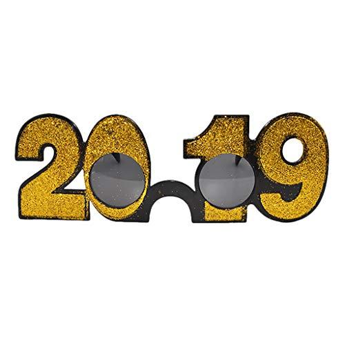 3b9cf9fd491 FEDULK Unisex Funny Crazy Fancy Glasses Novelty Costume Birthday Holiday  Party Sunglasses(V