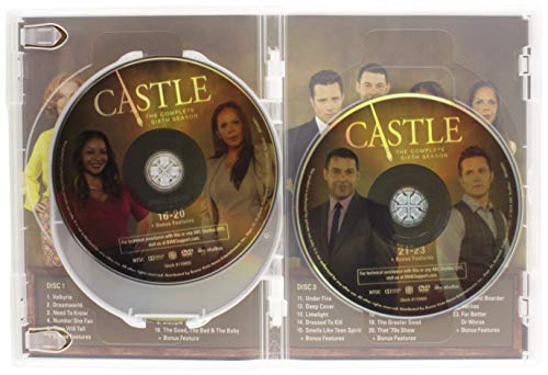 Castle: Season 6 (DVD)