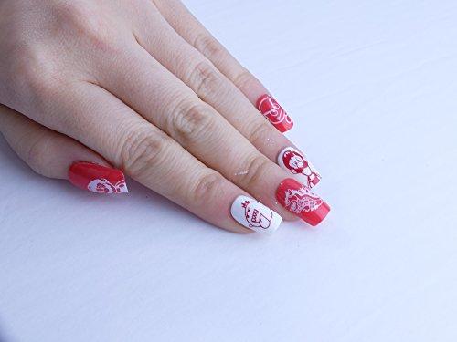 Subtle Mario Custom Press on Nails by Unicornails