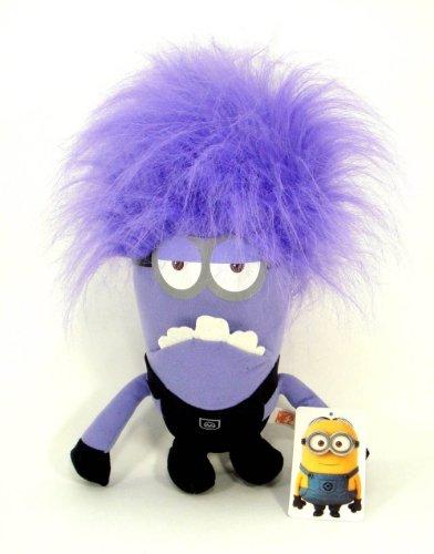 7 Inch Despicable Me 2 Two Eye Purple Minion Stuffed Plush Toy