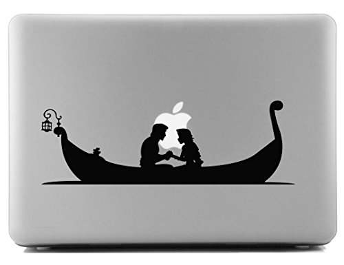 Rapunzel and Flynn Rider Tangled Decorative Laptop Skin Decal