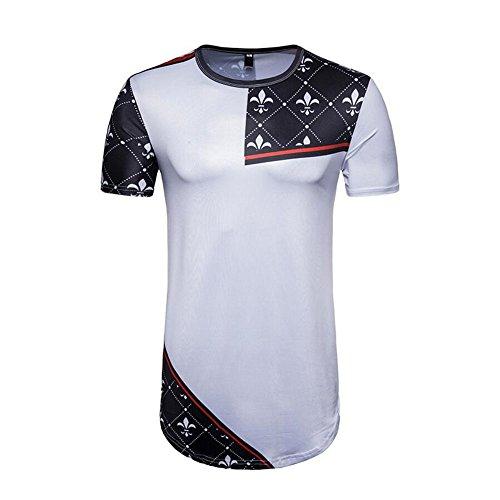 XUE Jeansian Men's Sports Transpirable de Secado rápido Camisetas de Manga Corta tee Tops Running Training (tamaño : S,...