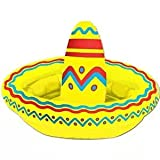 Inflatable Sombrero Cooler (Apprx for 10 12-oz Cans) Party Accessory (1 Count) (1/pkg) Pkg/12