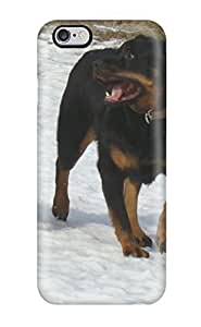 Quality Valerie Lyn Miller Case Cover With Rottweiler Dog Nice Appearance Compatible With Iphone 6 Plus