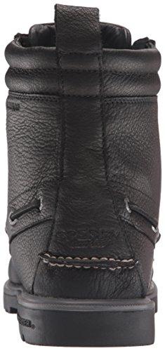 Sperry Herren A/O Lug New Boot Leather Schneestiefel Schwarz (Black)