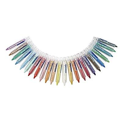 Wonder Stix TPG-636 Pastel Colors Dustless Chalk Crayon 24 pack: Wonder Stix: Arts, Crafts & Sewing