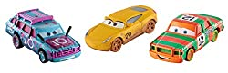 Disney Pixar Cars Die-cast Crazy 8 Vehicles, 3 Pack