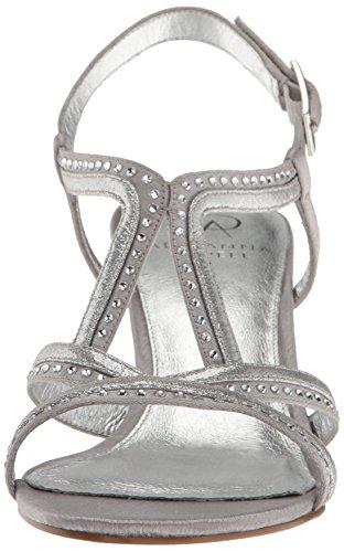 Papell Silver Agatha Dress Adrianna Women's Sandal v6qEdw