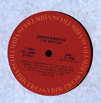 Aerosmith Live! Bootleg [1978] 2 LP Gatefold Album Live, Double LP, Best of