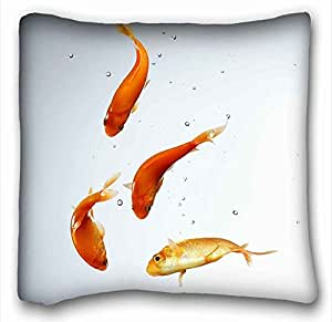 Soft Pillow Case Cover Animal Custom Cotton & Polyester Soft Rectangle Pillow Case Cover 16x16 inches (One Side) suitable for Full-bed