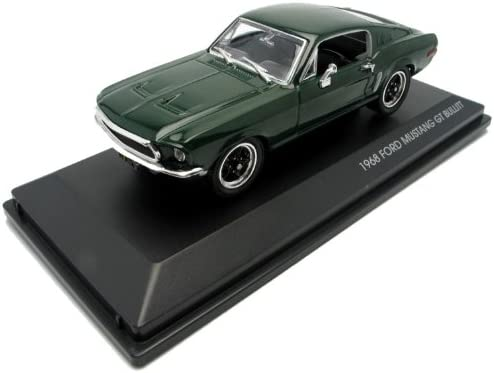 1968 FORD MUSTANG GT GREEN 1//43 DIECAST CAR MODEL BY ROAD SIGNATURE 43207