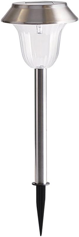10 X LUCI GIARDINO SOLARE ALIMENTATO POST Patio Outdoor Illuminazione a LED in acciaio inox