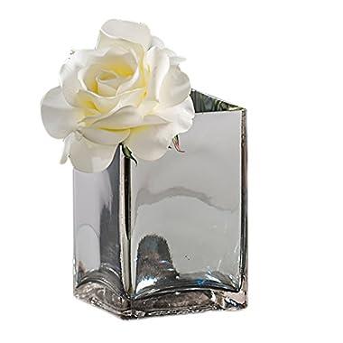 Shindigz Home Party Decor Silver Reflection Centerpiece