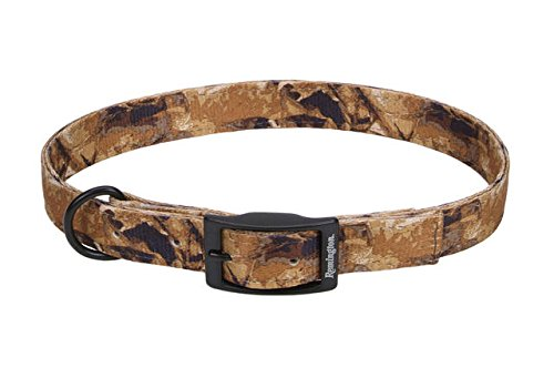 Remington Sporting Dog Nylon Hound Collar, Camo Fallen Leaves, 26 in., 1 in. Double-Ply