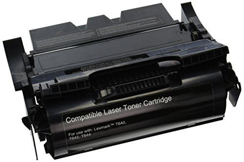 (V7 V7T640 Remanufactured High Yield Toner Cartridge for Lexmark Compliant T640/T642/T644/X642/X644/X646-21000 Page Yield)