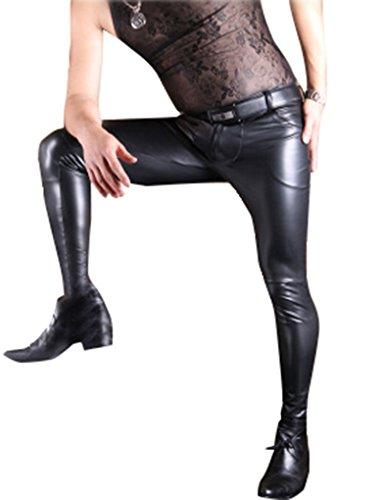 Noir Pantaloni Pantaloni Pantaloni Uomo Uomo Linvme Linvme Noir Linvme 4 Uomo 4 BTwOvq448