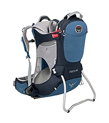 Osprey Packs Poco AG Child Carrier, Seaside Blue