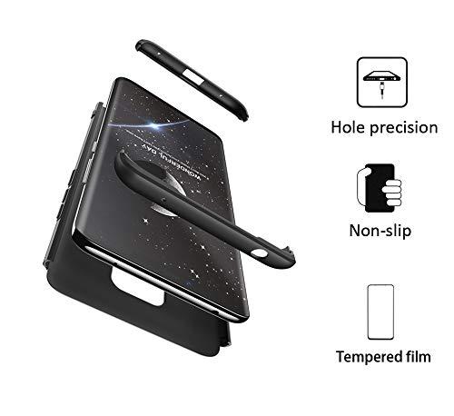 Aceniy Funda Huawei Mate 20 Pro, Carcasa Móvil de Protección de 360° 3 en 1 Desmontable con HD Protector de Pantalla Carcasa Caso Case Cover para ...