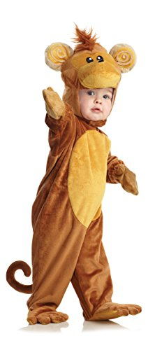 Underwraps Costumes Baby's Monkey, Brown/Tan, X-Large