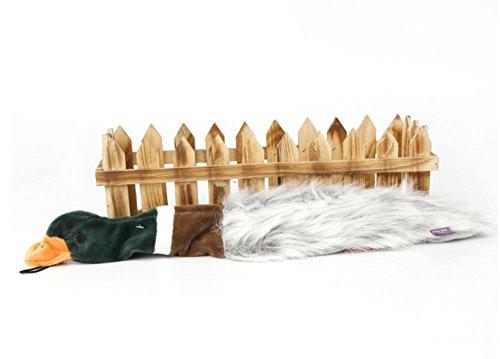 (AZITEKE Happy Pet Migrator Mallard Plush Toy for Dogs (Wild)