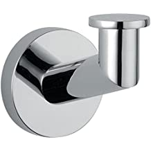 DI Hilton Wall Towel Robe Hook Hanger for Bath / Kitchen Towel Holder - Chrome