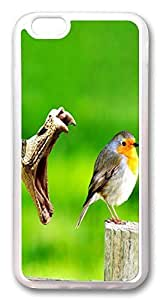 ACESR Bird And Snake Lightweight iPhone 6 Cases, TPU Case for Apple iPhone 6 (4.7inch) Transparent by rushername