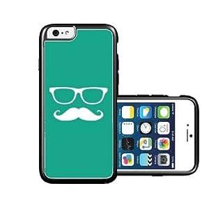 diy phone caseRCGrafix Brand Hipster Mustache Emrald Green Plain White iPhone 6 Case - Fits NEW Apple iPhone 6diy phone case