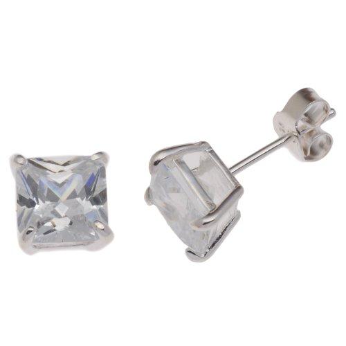 Boucles d'oreille Femme - E-10333 - Argent Sterling 1.9 Gr - Oxyde de zirconium