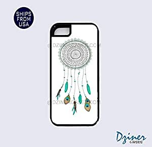 iPhone 5 5s Tough Case - Teal Dreamcatcher iPhone Cover