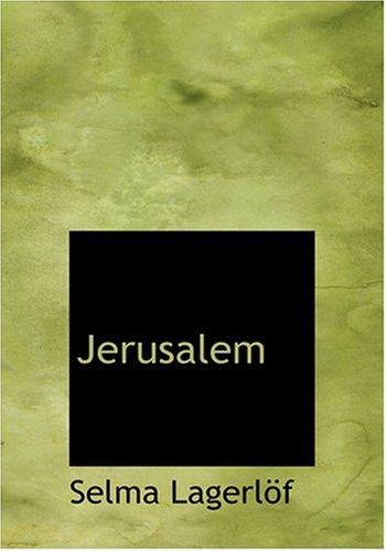 Jerusalem (Large Print Edition)