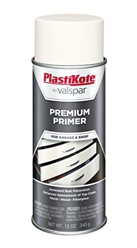 (PlastiKote T-38 White Premium Primer Enamel - 12 Oz.)