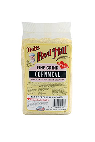 (Bob's Red Mill Fine Grind Cornmeal, 24-ounce)