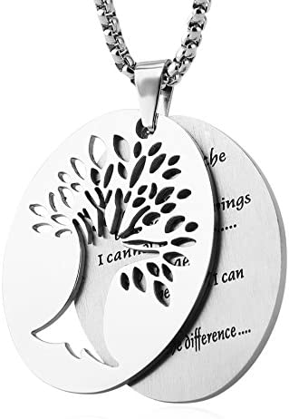 HZMAN Serenity Stainless Pendant Necklace product image