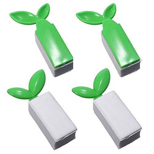 TXIN 4 Pack Leaf Shape Toilet Cover Lifter Toilet Seat Handl