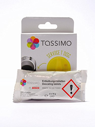Tassimo original descaling kit. (Best Tassimo Coffee Machine)