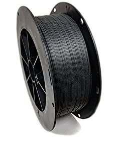 Essentium PA/CF Extremely Strong Carbon Fiber Filament 1.75 - Strength & Durability, Easy-To-Print Material, Carbon Fiber & Polyamide - Carbon Black - 500 grams by Essentium Materials, LLC