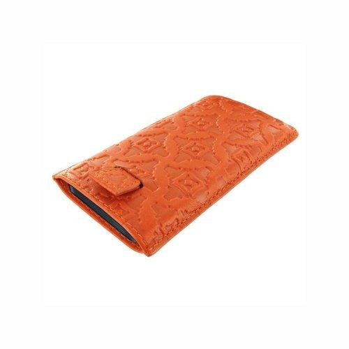 Piel Frama 598ORANGE Pull Ledertasche für Apple iPhone 5/5S/5C orange