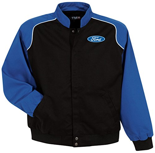 Mens Ford Oval PACER Jacket (pocket print), XL Royal/Black by Buy Cool Shirts