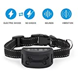 Bark Collar -2018 Smart Chip-Dog Shock Anti-Barking Collar with Beep, Vibration and Harmless Shock. No Bark Control for Small/Medium/Large Dogs, 7 Adjustable Levels For Sale