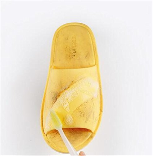 Summer Cool Bathroom Thick Anti Female Bleu TELLW Slippers Homme Fonc¨¦ Femmes Indoor Male Home Slip Femme Bottom Slippers wHPSqY