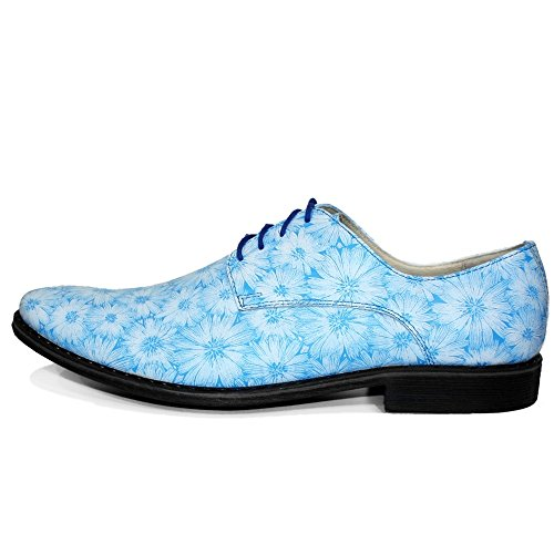 Handmade de pour Bleu Modello Cuir Suède Chaussures Lacer Vachette Italiennes Cuir Oxfords des Beach Hommes H5I5PqFwx