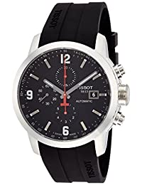 Tissot Men's T0554271705700 PRC 200 Analog Display Swiss Automatic Black Watch