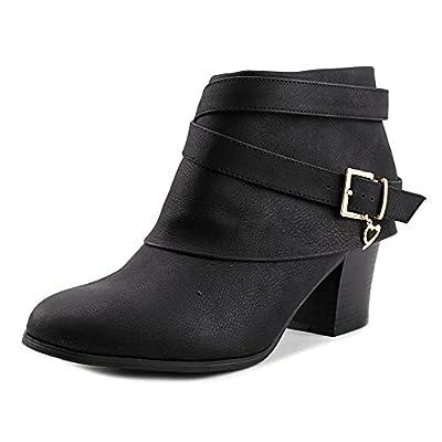 Thalia Sodi Womens Teca Cuff Dress Booties Black Size 8.5 M US