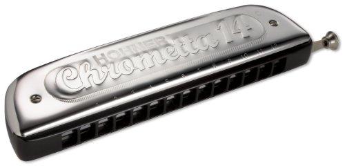 Hohner Accordions 257 Chrometta 14 Harmonica, Key Of C Major (257-C)