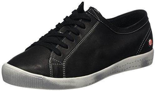 Softinos Isla Smooth, Sneaker Donna Nero (Nero)