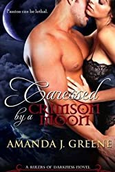 [ Caressed by a Crimson Moon By Greene, Amanda J ( Author ) Paperback 2013 ]