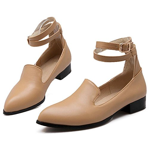 Coolcept Zapatos Puntiagudos para Mujer apricot