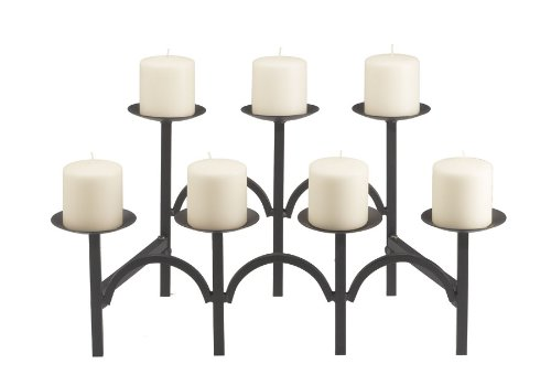 Minuteman International X304135 Black Candelabra For Sale