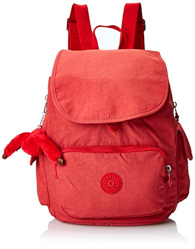 Kipling Women's City Pack S Backpacks, 27x33.5x19 cm (W x H x D) Red (Spicy Red C)